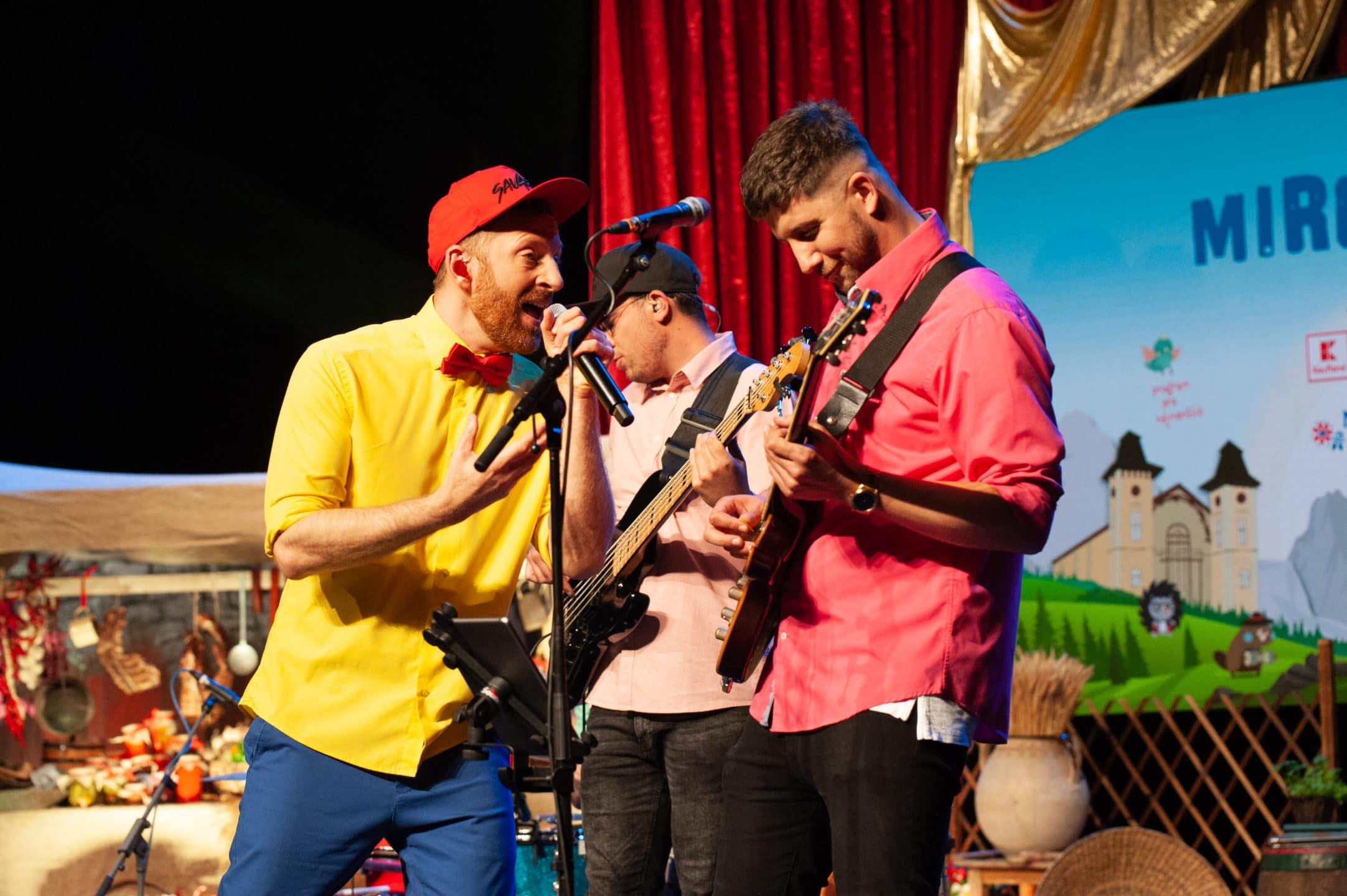 vystupenie Miro Jaros s kapelou v bratislave